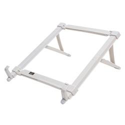 Suporte p/ Notebook Reliza 206.001/017 c/ Regulagem Plástico Branco CX 1 UN