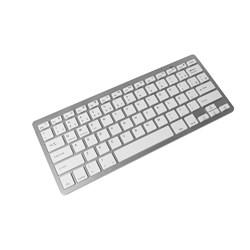 Teclado Mini sem Fio Bluetooth Dex Mini LTK-710 Prata CX 1 UN