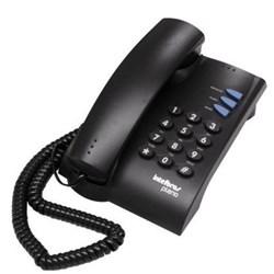 Telefone com Fio Intelbras Pleno 4080051 Preto CX 1 UN