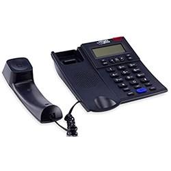 Telefone com Fio Multifuncional Force Line 891 c/ ID Chamadas e Viva-Voz Preto CX 1 UN