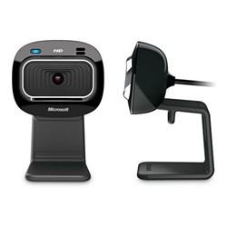 WebCam com Microf Microsoft LifeCam HD-3000 T4H-00002 HD 720p USB Preto CX 1 UN