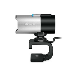 WebCam com Microf Microsoft LifeCam Studio 1425-Q2f-00013 USB 2.0 Preta/Prata CX 1 UN